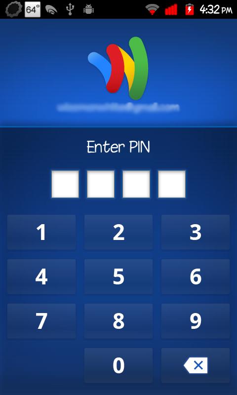 Google Wallet Update