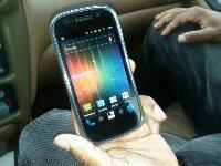 Nexus S 4G Running Ice Cream Sandwich