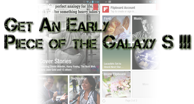 Grab Two of the Galaxy S III's Featured Apps Before Official US Launch Date