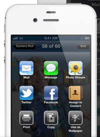 Even in iOS6 Sharing Photos, Websites & Other Items is Still Limited