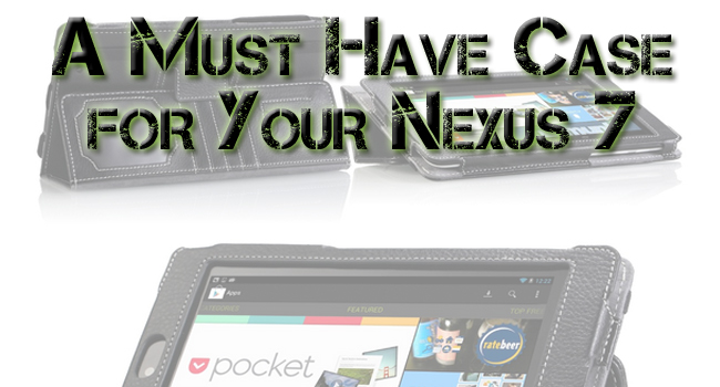 Keep Your Nexus 7 Tablet Looking Sharp for the Olympics with This Great Case