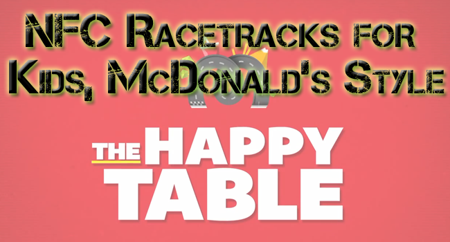 McDonald's NFC Racetracks for Kids