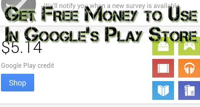 free money on google play store
