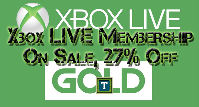 The tech temple xbox live gold membership on sale